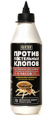 Remède contre les punaises de lit GEKTOR