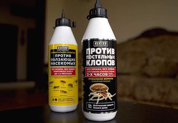 Une série d'insectifuges en poudre Hector