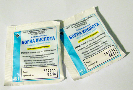 Acide borique