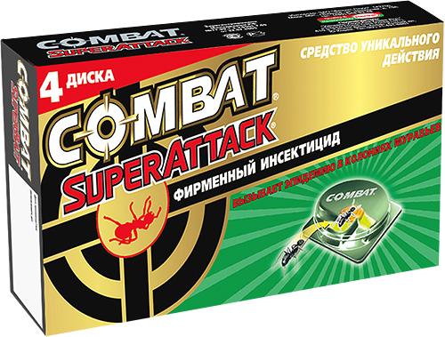 Piège insecticide contre les fourmis Combat SuperAttack