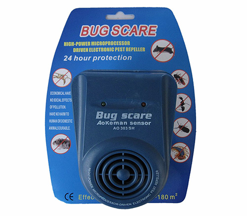 Les fourmis domestiques ne répondent pratiquement pas à la présence d'un répulsif à ultrasons