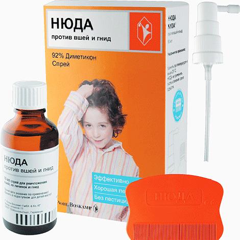 En fait, le remède de Nuda n'empoisonne pas les poux, mais bloque ses voies respiratoires.