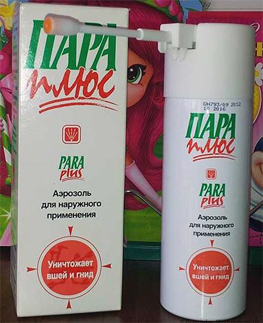 Un autre médicament pour éliminer les poux à la maison - un produit en aérosol Pair Plus