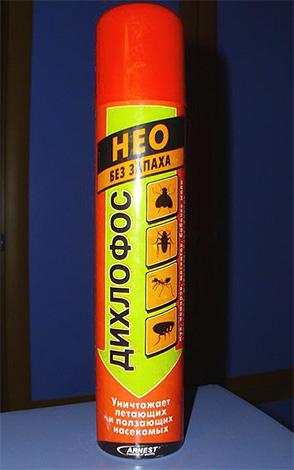 Neo dichlorvos peut être utilisé pour traiter les puces à la maison