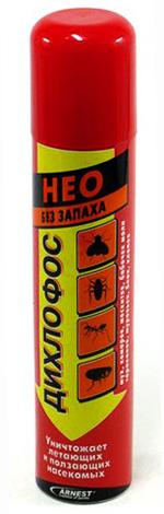 Dichlorvos Neo est efficace dans le traitement des puces dans une petite pièce.