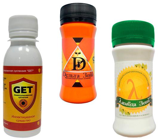Obtenez un insectifuge, Delta Zone et Lambda Zone