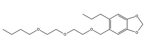 Butoxyde de pipéronyle - procure un effet synergique lorsqu'il est associé à des pyréthroïdes.