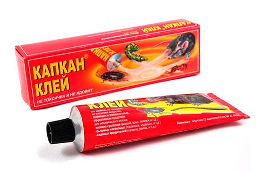 Colle pour la préparation de pièges à colle à partir de pièges à rongeurs et à insectes