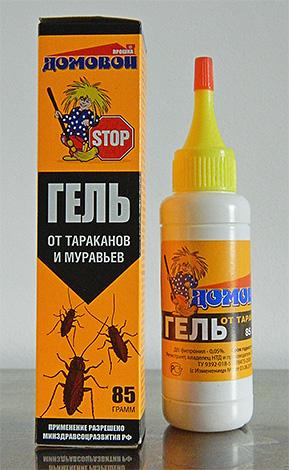 Les gels insecticides agissent comme des appâts empoisonnés et détruisent les insectes après les avoir mangés.