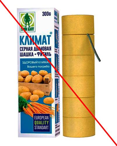L'utilisation de vérificateurs de soufre contre les insectes est dans la plupart des cas peu pratique en raison de leur activité insecticide réduite.