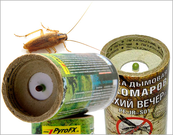 Nous découvrons les caractéristiques de l'utilisation de bombes à fumée insecticides dans la lutte contre les cafards dans un appartement ou une autre pièce fermée ...