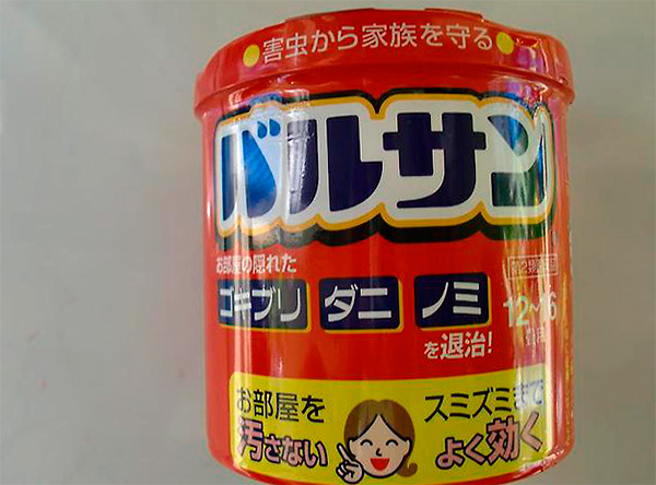 Bombe de fumée d'insecte japonais