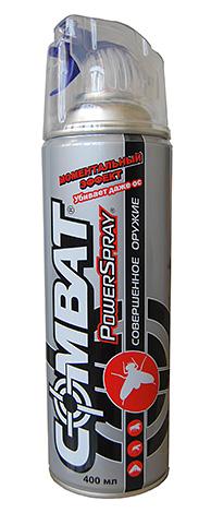 Spray insectifuge volant Combat PowerSpray