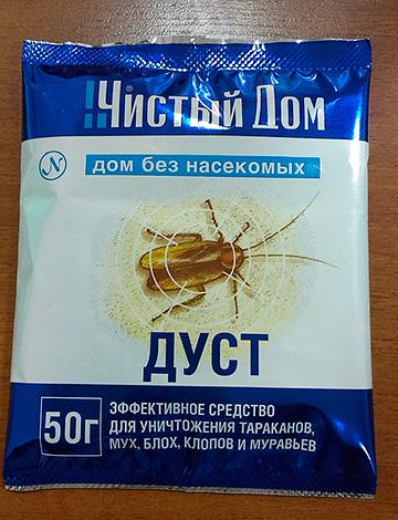 Poussière pour la destruction des insectes Clean House