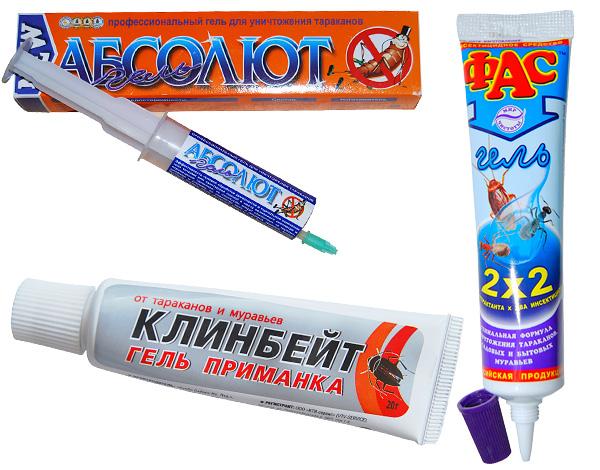 Gels utilisés dans la lutte contre les cafards et les fourmis dans la maison, il est également efficace contre les cloportes.