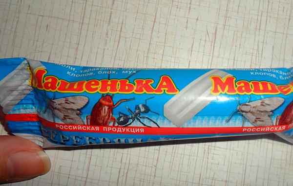 Avec un bon usage du crayon insecticide, Masha est sans danger pour les humains.