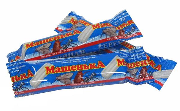 Crayons de cafards Masha vendus très activement aujourd'hui, malgré la présence sur le marché de médicaments plus efficaces.