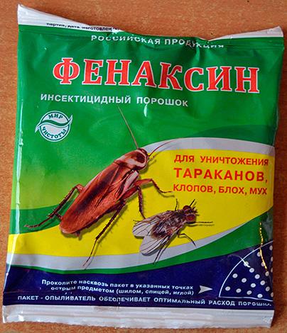 Fenaxine en poudre insecticide