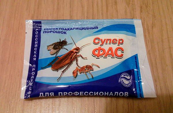 Insektoakaritsidny poudre Super Fas
