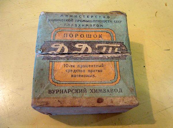 Douste (DDT), désormais interdit d'utilisation.