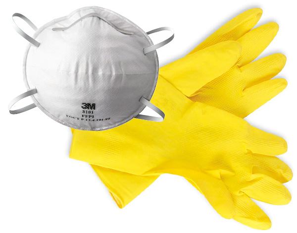 Lorsque vous travaillez avec des insecticides, il est important d'utiliser un équipement de protection individuelle.